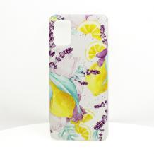 Луксозен силиконов калъф / гръб / TPU за LG K50S - Summer / лимони