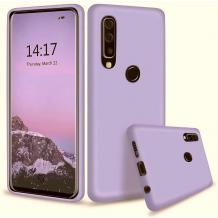 Луксозен силиконов калъф / гръб / Nano TPU за Huawei P30 Lite - Светло лилав