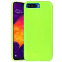 Силиконов калъф / гръб / TPU NORDIC Jelly Case за Apple iPhone 7 / iPhone 8 - лайм