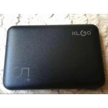 Универсална външна батерия Power Bank KLGO Macaroon KP-55 5000mAh - черна