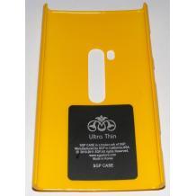 Заден предпазен твърд гръб / капак / SGP за Nokia Lumia 920 - жълт