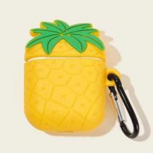 Силиконов калъф за AirPod - Pineapple