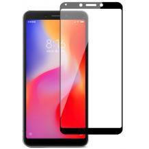 Удароустойчив протектор Full Cover / Nano Flexible Screen Protector с лепило по цялата повърхност за дисплей на Huawei Mate 20 Lite – черен