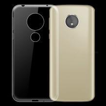 Ултра тънък силиконов калъф / гръб / TPU Ultra Thin за Motorola Moto E5 Play - прозрачен