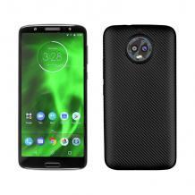 Силиконов калъф / гръб / TPU за Motorola Moto G6 - черен / Carbon