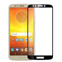 3D full cover Tempered glass screen protector Motorola Moto G6 Play / Извит стъклен скрийн протектор за Motorola Moto G6 Play - черен