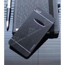 Луксозен твърд гръб MOTOMO за Lenovo Sisley S90 / Lenovo S90 - черен