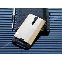 Луксозен твърд гръб / капак / MOTOMO за Asus Zenfone 2 Laser ZF551KL / ZE550KL (5.5) - златист