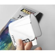 Удароустойчив протектор Full Cover / Nano Flexible Screen Protector с лепило по цялата повърхност за дисплей на Samsung Galaxy A50 - черен