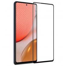 3D full cover Tempered glass Full Glue screen protector Xiaomi Mi 11 Lite / Извит стъклен скрийн протектор с лепило от вътрешната страна за Xiaomi Mi 11 Lite - черен