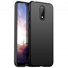 Силиконов калъф / гръб / TPU за Nokia 2.3 - черен / мат
