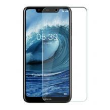 Стъклен скрийн протектор / 9H Magic Glass Real Tempered Glass Screen Protector за Nokia 8.1 / Nokia X7