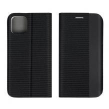 Кожен калъф Sensitive Book със стойка за Xiaomi Redmi Note 8T – черен