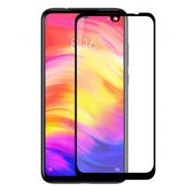 3D full cover Tempered glass screen protector Xiaomi Redmi 7 / Извит стъклен скрийн протектор Xiaomi Redmi 7 - черен