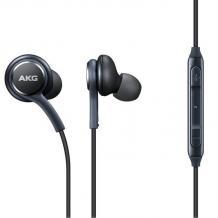 Оригинални стерео слушалки AKG / handsfree / за Samsung Galaxy A40 - черни