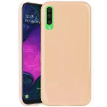 Силиконов калъф / гръб / TPU NORDIC Jelly Case за Samsung Galaxy A10 - телесен