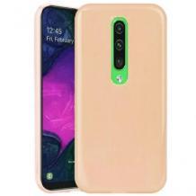 Луксозен силиконов калъф / гръб / TPU NORDIC Jelly Case за Xiaomi Mi 9T - телесен