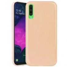 Силиконов калъф / гръб / TPU NORDIC Jelly Case за Samsung Galaxy A40 - телесен