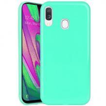 Силиконов калъф / гръб / TPU NORDIC Jelly Case за Samsung Galaxy A40 - мента