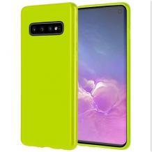 Силиконов калъф / гръб / TPU NORDIC Jelly Case за Samsung Galxy S10 - лайм