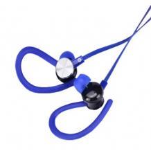 Стерео слушалки Sports / Stereo Sports Earphones / 3.5mm за смартфон - сини