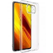 Силиконов калъф / гръб / TPU NORDIC Jelly Case за Xiaomi Poco X3 - прозрачен