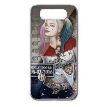 Луксозен стъклен твърд гръб за Samsung Galaxy S10 Plus - Poker joker Face Girl