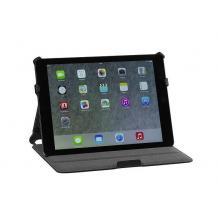 Кожен калъф за таблет със стойка Pouch hard-shell case за Apple iPad Air - черен