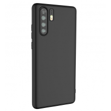 Луксозен силиконов калъф / гръб / ТПУ X-level за Huawei P30 Pro - черен / гланц