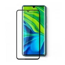9D full cover Tempered glass Full Glue screen protector Samsung Galaxy S20 FE / Извит стъклен скрийн протектор с лепило от вътрешната страна за Samsung Galaxy S20 FE  - черен