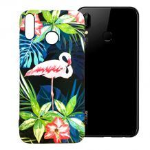 Силиконов калъф / гръб / TPU LUXO за Samsung Galaxy A50 - розово фламинго