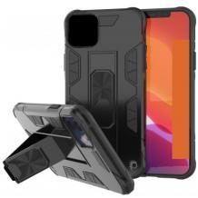 Удароустойчив гръб Hybrid Case със стойка и магнитно захващане за Xiaomi Redmi 9A – черен