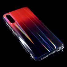 Силиконов калъф / гръб / TPU Rainbow за Huawei Y6 2019 - преливащ / червен