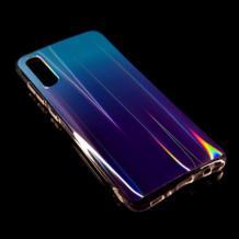Силиконов калъф / гръб / TPU Rainbow за Huawei P30 - преливащ / синьо