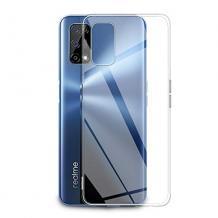 Силиконов калъф / гръб / TPU за Realme 7 5G - прозрачен