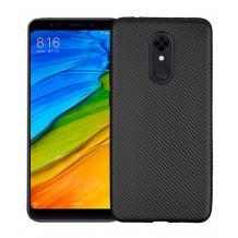 Силиконов калъф / гръб / TPU за Xiaomi Redmi 5 Plus - черен / Carbon