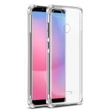 Удароустойчив ултра тънък силиконов калъф / гръб / TPU за Xiaomi Mi 8 Lite - прозрачен