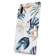Кожен калъф Flip тефтер със стойка Trendy Book за Huawei Y6p - Orchid