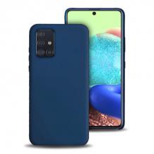 Луксозен силиконов калъф / гръб / Nano TPU за Samsung Galaxy Note 20 - тъмно син