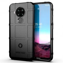Удароустойчив калъф / гръб / Rugged Shield TPU Case за Nokia 5.4 - черен