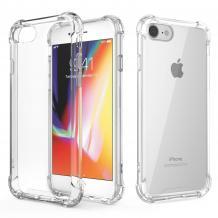 Удароустойчив силиконов калъф за Apple iPhone 7 / iPhone 8 - прозрачен