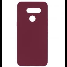 Силиконов калъф / гръб / TPU за LG K50S - лилав / мат