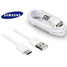 Оригинален USB кабел за зареждане и пренос на данни за Samsung Galaxy A52 / A52 5G Type-C - бял