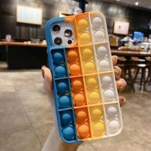 Силиконов калъф / гръб / TPU 3D Rainbow POP за Apple iPhone 12 /12 Pro 6.1'' - art 2
