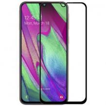 5D full cover Tempered glass Full Glue screen protector Xiaomi Mi 9 SE / Извит стъклен скрийн протектор с лепило от вътрешната страна за Xiaomi Mi 9 SE - черен