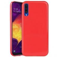 Луксозен силиконов калъф / гръб / TPU NORDIC Jelly Case за Samsung Galaxy Note 10 Plus / Note 10 Pro N976 - червен