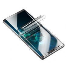3D full cover Hydrogel screen protector за Samsung Galaxy S21 / Извит гъвкав скрийн протектор Samsung Galaxy S21 - прозрачен