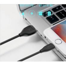 Оригинален USB REMAX Lesu Data кабел RC-050t 2в1 2m / Lightning & Micro USB Charging Data Cable 2in1 - черен
