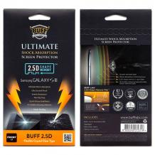 Удароустойчив скрийн протектор / Buff Ultimate Shok Absorption Screen Protector / за ZTE Blade 3 / ZTE Blade III V889M