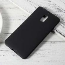 Силиконов калъф / гръб / TPU за Nokia 2.2 - черен / мат